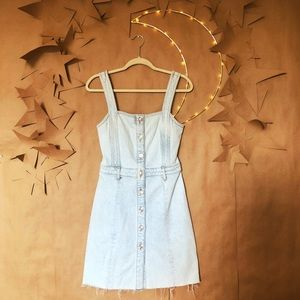 ✨ 7 For All Mankind Button Front Denim Dress ✨